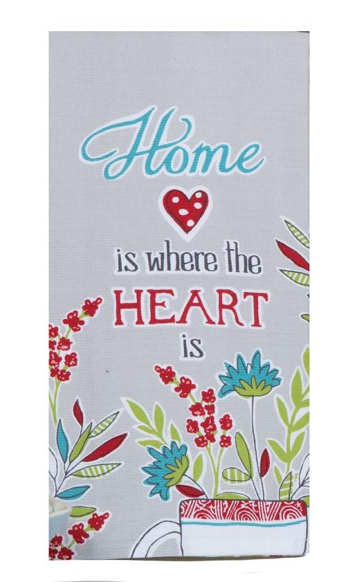 Kay Dee (R6736) House Rules Herbal Home Dual Purpose Terry Towel