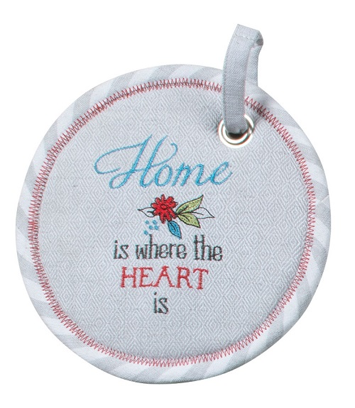 Kay Dee (R6732) House Rules Herbal Potholder