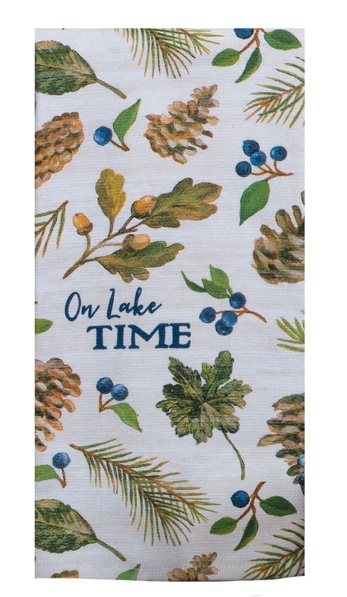 Kay Dee (R5920) Lakeside Retreat Lake Time Dual Purpose Terry Towel