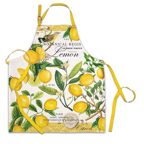 Michel Design Works (APR008) Lemon Basil Apron