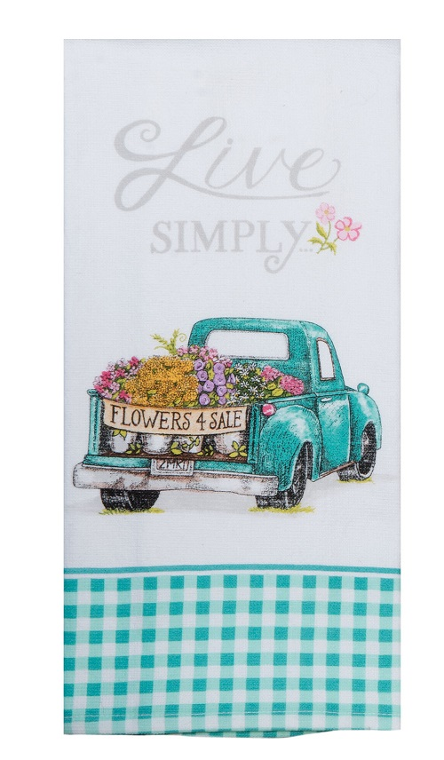 Kay Dee (R4850) Live Simply Truck Dual Purpose Terry Towel