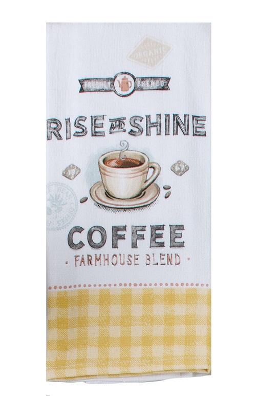 Kay Dee (R7130) Local Market Coffee Dual Purpose Terry Towel