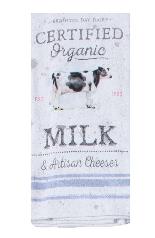 Kay Dee (R7100) Local Market Organic Milk Dual Purpose Terry Towel