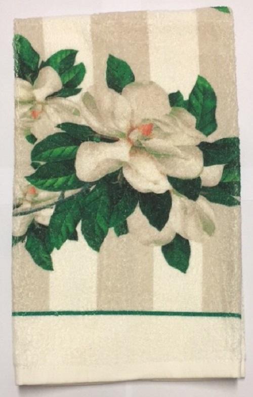 MagnoliasTerryTowelLarge