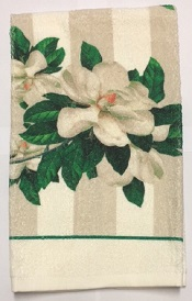 MagnoliasTerryTowelSmall