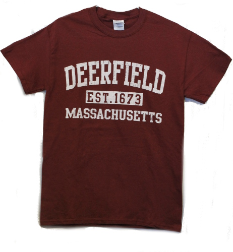 Deerfield T-Shirt Maroon