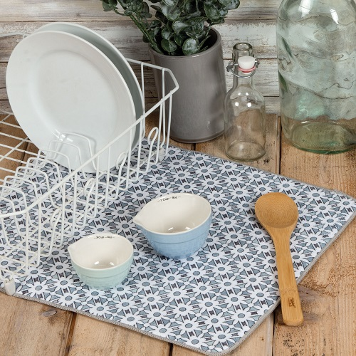 Kay Dee (A8924) Modern Farmhouse Countertop Drying Mat
