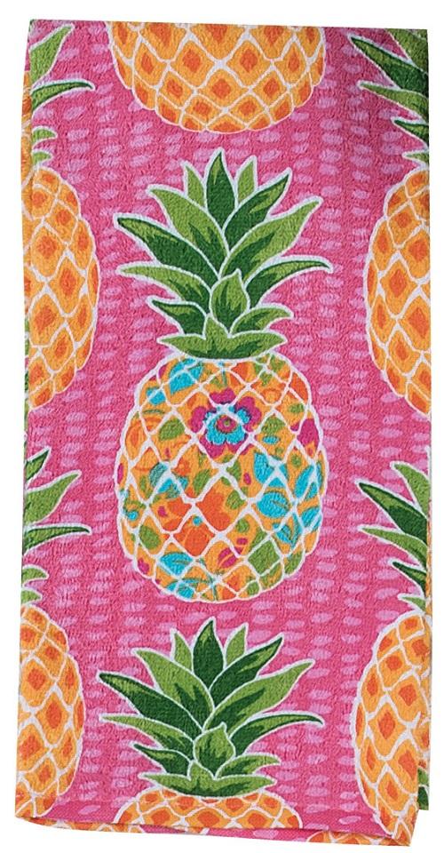 Kay Dee (R5320) Summer Fun Pineapple Terry Towel
