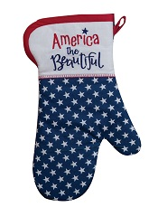 R6515AmericaTheBeautifulOvenMittLittle