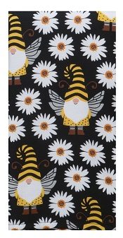 Kay Dee (R7166) Save The Gnomes Daisy Dual Purpose Terry Towel