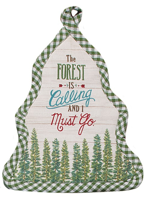 Kay Dee (R4922) Scenic Route Forest Calling Shaped Pocket Mitt