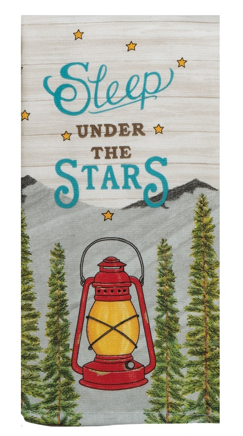 Kay Dee (R4921) Scenic Route Sleep Under the Stars Dual Purpose Terry Towel