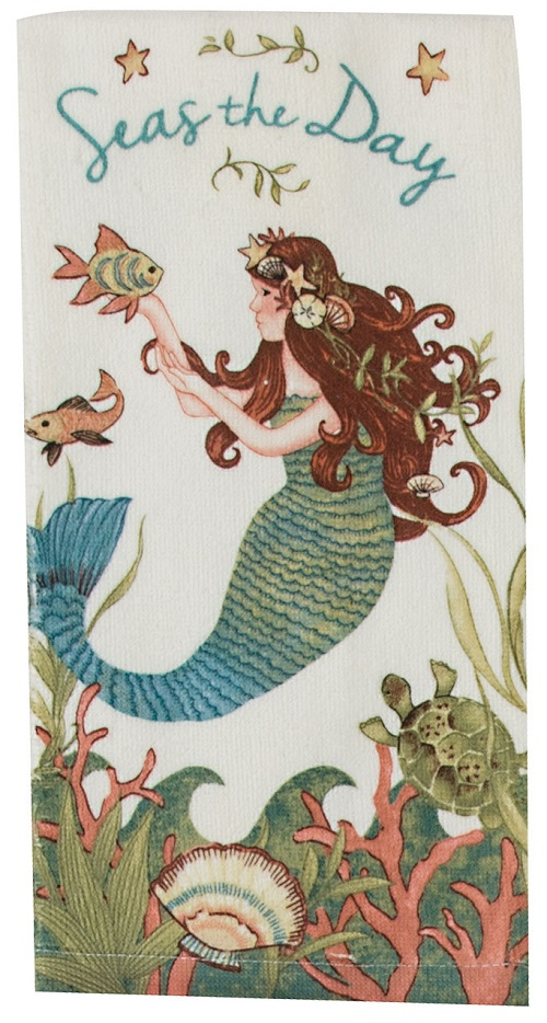 Kay Dee (R4060) Seas The Day Terry Towel