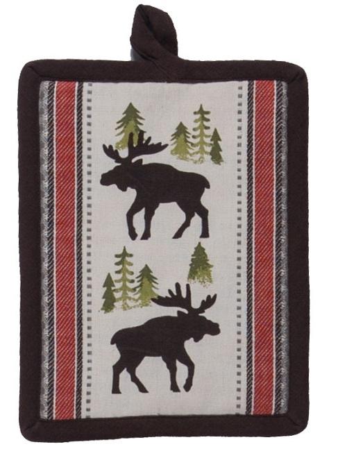 Kay Dee (R3302) Simple Living Moose Potholder