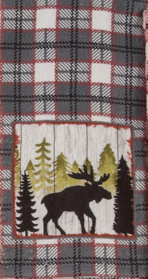 Kay Dee (R3300) Simple Living Moose Terry Towel