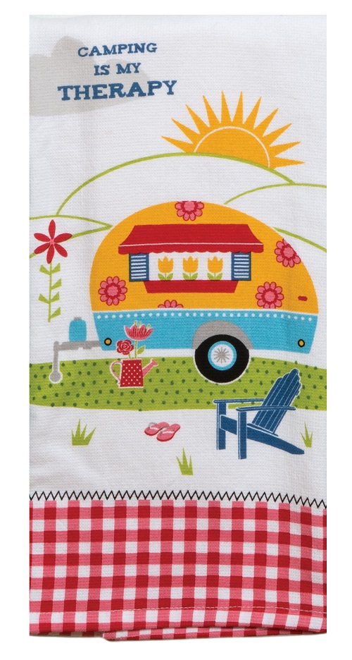 Kay Dee (R4260) Summer Adventure Camping Therapy Dual Purpose Terry Towel
