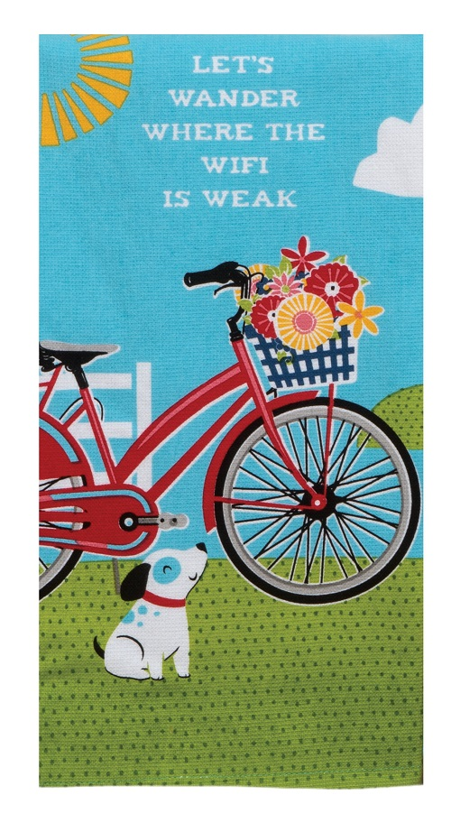 Kay Dee (R4280) Summer Adventure Wander Bike Dual Purpose Terry Towel