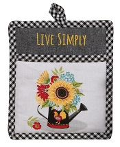 SunflowerCharmPocketMittLittle
