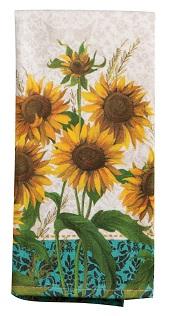 SunflowerFieldsTerryTowelLittle