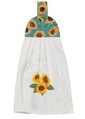 SunflowerFieldsTieTowelLittle