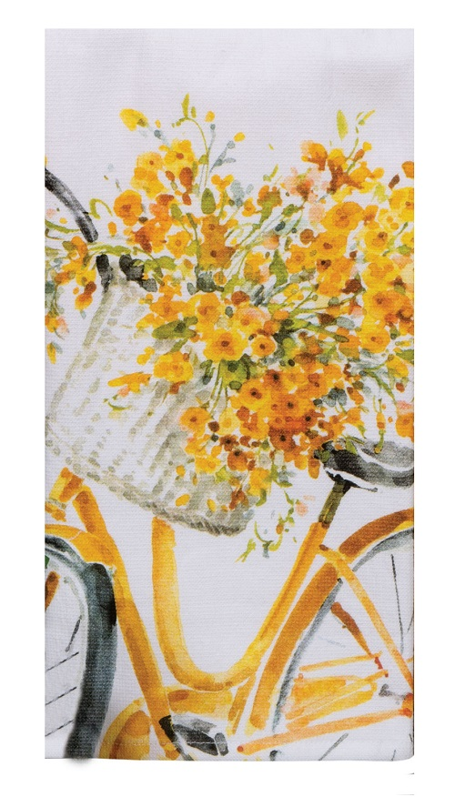 Kay Dee (R4884) Sweet Home Bike Dual Purpose Terry Towel