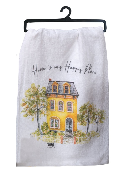 Kay Dee (R4893) Sweet Home Flour Sack Towel