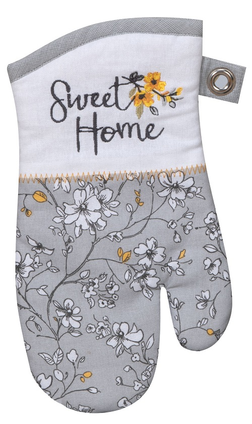 Kay Dee (R4885) Sweet Home Embroidered Oven Mitt
